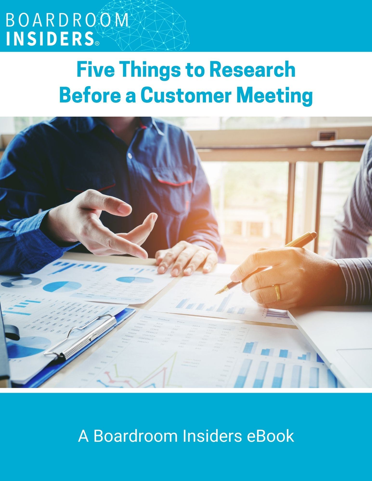 Five Things to Research Before a Customer Meeting