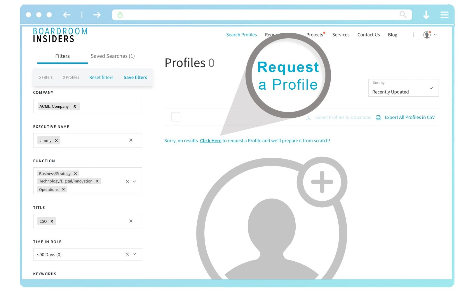 BI-Features-Request New Profiles